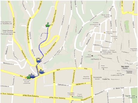 Centar za odgoj i obrazovanje slava rakaj zagreb lokacija prikai centar slava rakaj na veoj karti altavistaventures Choice Image